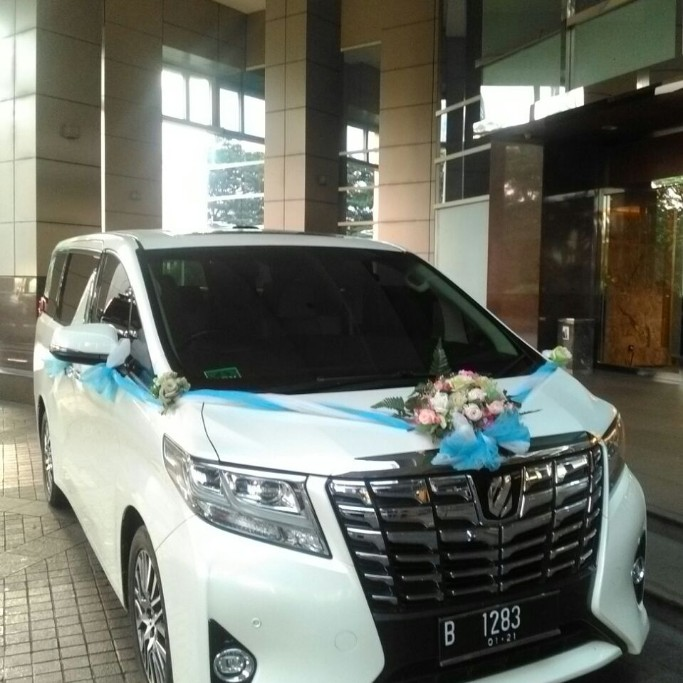 Wedding Car New Alphard Tahun 2016/2017