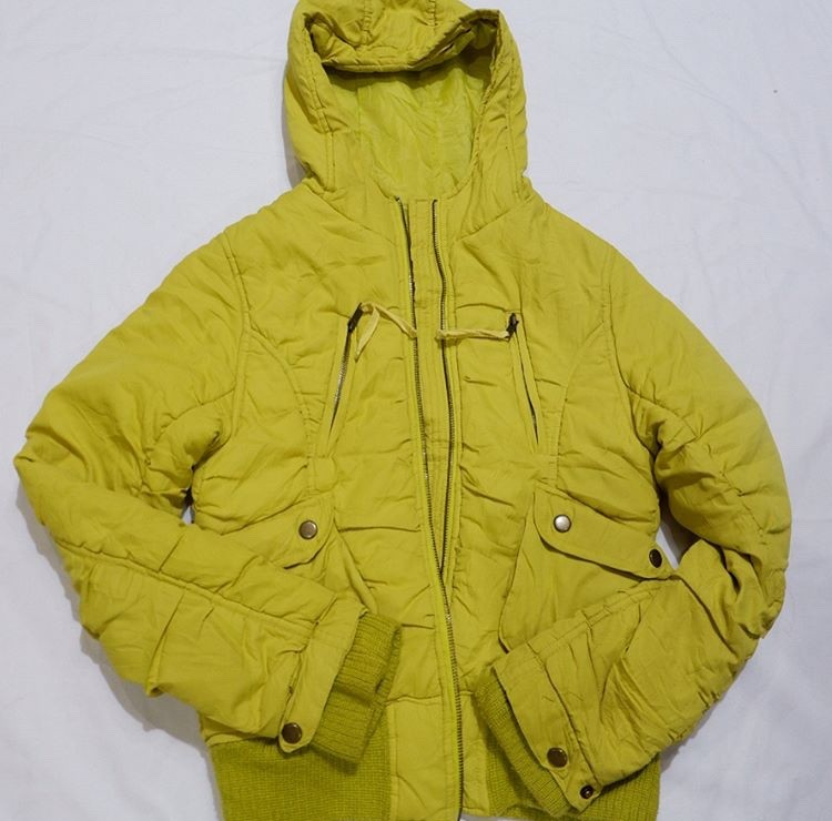 Green lime Winter Jacket